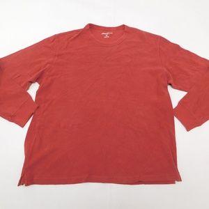 Eddie Bauer XL Red T Shirt Crewneck Cotton
